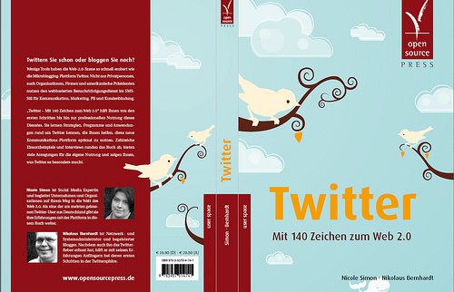 Twitter book - the cover
